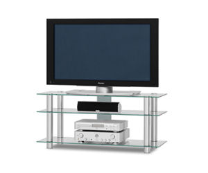 Аксессуары для ТV и HI-FI JUST RACKS - JUST RACKS TV1203 Alu